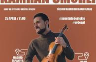 Azerbaijan`s talented violinist to give online concert