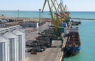 Cargo volume transshipped to Azerbaijan via Kazakhstan's Aktau and Kuryk ports revealed