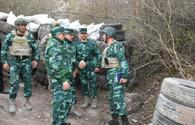 "Senior military officials inspect Gazakh border division <span class=""color_red"">[PHOTO]</span>"