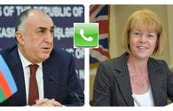 Online meeting held between Azerbaijani FM, UK's Parliamentary Under Secretary of State