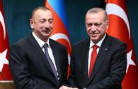 Erdogan congratulates Azerbaijan on national holiday in letter to President Aliyev