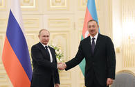 Putin hails ties with Azerbaijan in letter sent to president