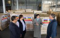 Azerbaijan sends humanitarian aid to Ukraine over COVID-19