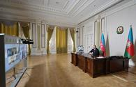 "President Aliyev holds videoconference with ADB executives <span class=""color_red"">[PHOTO]</span>"