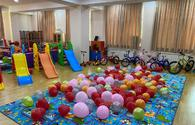 "Heydar Aliyev Foundation presents holiday gifts to children <span class=""color_red"">[PHOTO]</span>"