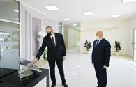 "President Ilham Aliyev inaugurates new projects in Aghjabadi <span class=""color_red"">[PHOTO]</span>"