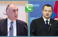 Azerbaijani, Serbian FMs mull bilateral cooperation in phone conversation