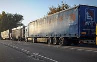 Iranian trucks with goods enter Turkey, following months of closure