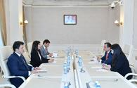 "Spanish embassy official, Azerbaijani MPs mull ties, Karbakh conflict <span class=""color_red"">[PHOTO]</span>"