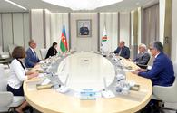 "German envoy, SOCAR head mull energy cooperation <span class=""color_red"">[PHOTO]</span>"