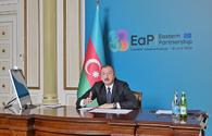 """President Aliyev: Negotiations on new partnership with EU in final stage <span class=""""color_red"""">[PHOTO]</span>"""