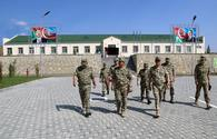 Azerbaijan opens new military unit on contact line