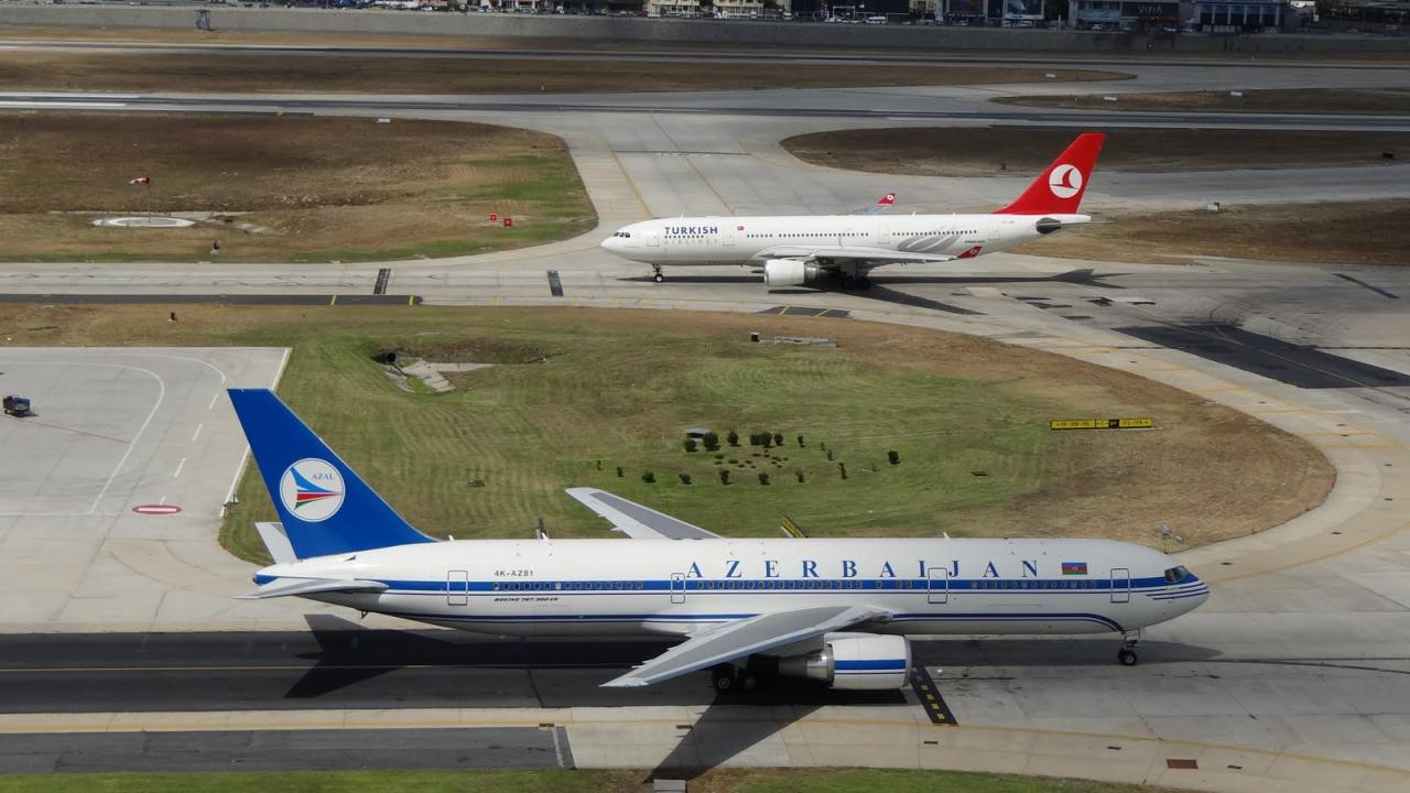 Azerbaijan Turkish Airlines To Perform Charter Flights From June 29