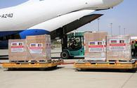 Azerbaijan sends humanitarian aid to Afghanistan over COVID-19