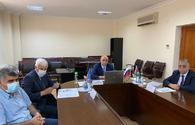 "Azerbaijan, Russia discuss issues on sharing water resources <span class=""color_red"">[PHOTO]</span>"