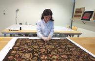 "National Carpet Museum presents eye-catching embroidery <span class=""color_red"">[PHOTO]</span>"