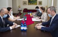 Baku, Kyiv reaffirm support for each other's territorial integrity