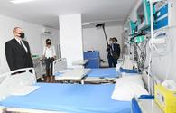 "New modular hospital for COVID-19 patients inaugurated in Baku <span class=""color_red"">[UPDATE]</span>"