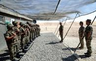 """Defence minister monitors situation on frontline <span class=""""color_red"""">[VIDEO]</span>"""