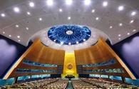 UN General Assembly to convene over COVID-19 today upon Azerbaijan's initiative