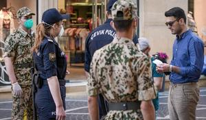 Some 1,310 fined for violating lockdown rules
