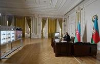 "Ilham Aliyev chaires Cabinet meeting on results of socio-economic development in first quarter of 2020 <span class=""color_red"">[PHOTO]</span>"