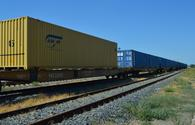 ADY Container: Azerbaijan sees growth in rail freight transportation