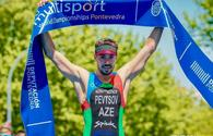 National triathlonist grabs victory in Ukraine