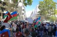 "Azerbaijanis hold rally in France to protest Armenian aggression on border <span class=""color_red"">[PHOTO/VIDEO]</span>"
