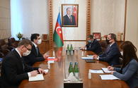 "Azerbaijani FM, Turkish envoy discuss recent Armenian provocation <span class=""color_red"">[PHOTO]</span>"
