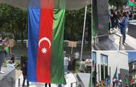 """Unauthorized rally of Armenians in front of Azerbaijani embassy in Belgium fails <span class=""""color_red"""">[PHOTO]</span>"""