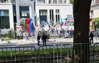 Azerbaijani in Belgium: Police didn't interfere when Armenians beat us
