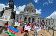 "Azerbaijanis hold protest in Minnesota against Armenian military provocation <span class=""color_red"">[PHOTO]</span>"