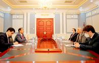 "Azerbaijani ambassador holds meeting with Tajikistan's Deputy FM <span class=""color_red"">[PHOTO]</span>"