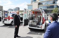 """Azerbaijan imports new ambulances <span class=""""color_red"""">[UPDATE]</span>"""