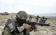 Azerbaijani, Turkish troops hold live-fire joint drills