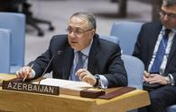 While retreating Armenian Armed Forces destroyed infrastructure in Azerbaijani lands - permanent rep to UN