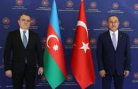 "Azerbaijani, Turkish FMs holding meeting in Ankara <span class=""color_red"">[PHOTO]</span>"