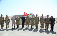"Azerbaijani, Turkish defense ministers observe joint military drills <span class=""color_red"">[PHOTO/VIDEO]</span>"