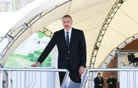 "President Aliyev: Azerbaijan fully meets electricity  demand <span class=""color_red"">[UPDATE]</span>"