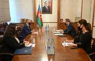"Azerbaijani FM meets with newly appointed ambassador of Greece <span class=""color_red"">[PHOTO]</span>"
