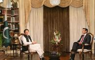 Pakistan PM calls for further strengthening of ties with Iran