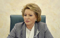 Chairperson of Russia's Council of Federal Assembly congratulates Azerbaijan's First VP