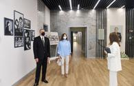 """President, First Lady inaugurate new projects in Baku's district <span class=""""color_red"""">[UPDATE]</span>"""