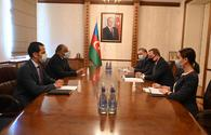 "Azerbaijani FM meets with ambassador of Egypt (PHOTO) <span class=""color_red"">[PHOTO]</span>"