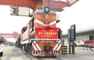 China launches new cargo train route to Europe via Azerbaijan