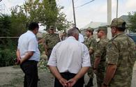 "Azerbaijani senior officials visit military units on frontline <span class=""color_red"">[PHOTO]</span>"