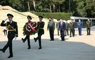 "Azerbaijani, Turkish officials commemorate liberation of Baku <span class=""color_red"">[PHOTO/VIDEO]</span>"
