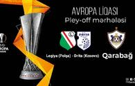 Qarabag FC to hold next match in play-off round of Europa League in October