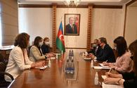 "Azerbaijani FM receives head of International Committee of Red Cross Delegation <span class=""color_red"">[PHOTO]</span>"